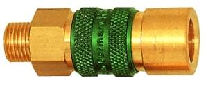 ID: 107633 - Unverwechselbare Schnellverschlusskupplung NW 5, G 1/8 AG, blau