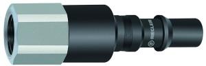 ID: 141772 - Nippel mit RSV für Kupplungen NW 8, ISO 6150 C, Stahl, G 3/8 IG