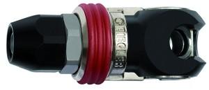 ID: 141695 - Schwenk-Sicherheitskupplung NW 8, ISO 6150 C, Stahl, Schl. 11x16