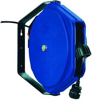 ID: 113981 - Elektro-Kabelaufroller, PVC 3x1,5 mm², max. 230 V/16 Ampère, 17 m