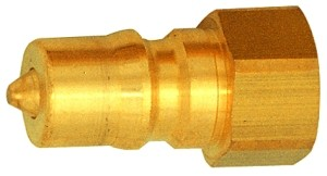 ID: 107702 - Verschlussnippel beidseitig absperrend, MS blank, G 3/4 IG, NW 13