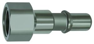ID: 141966 - Nippel für Kupplungen NW 8, ISO 6150 C, Edelstahl, G 1/4 IG