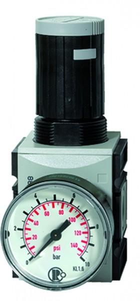 ID: 100076 - Präzisionsdruckregler »FUTURA«, mit manometer BG 1, G 1/4, 0,1-1 bar