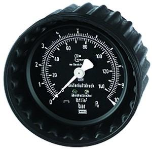 ID: 114539 - Manometer, 0 - 10 bar/140 psi, ø 63 mm, G 1/4, hinten