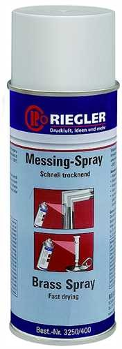 ID: 114579 - RIEGLER Messing-Spray, Temperatur max. 300 °C, 400 ml