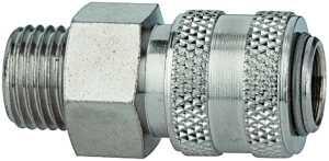 ID: 115625 - Schnellverschlusskupplung NW 5 »connect line«, MS vern., G 3/8 AG