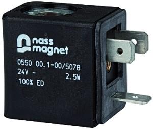 ID: 100740 - Magnetspule 24 V DC, für Schaltventil (3/2-Wegeventil)