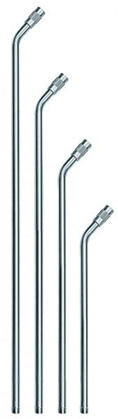 ID: 114342 - Verlängerungsrohr o. Düse, gebogen 600 mm, Alu, für Sicher.düsen