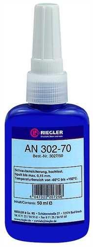 ID: 114558 - RIEGLER Lock AN 302-70, anaerober Klebstoff, hochfest, 50 ml
