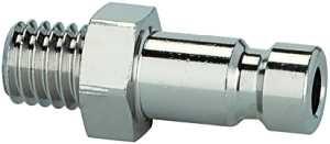 ID: 156260 - Nippel für Kupplungen NW 2,7, Edelstahl 1.4305, M5 AG, SW 7