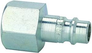 ID: 107380 - Nippel für Kuppl. NW 7,2 - NW 7,8, Stahl gehärtet/verz., G 1/8 IG