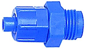 ID: 110727 - Gerade Einschraubverschraubung G 3/8 a., für Schlauch 8/6 mm, POM