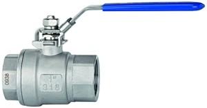 ID: 115736 - Edelstahlkugelhahn »valve line« 1.4408/1.4301, G 3/4, DN 20