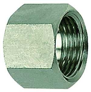 ID: 111726 - 6-kant-Überwurfmutter, G 1/4, für Tüllengröße LW 9, ES 1.4571