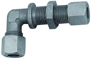 ID: 159234 - Winkel-Schottverschraubung, Rohr-Außen-Ø 22 mm, Stahl verzinkt