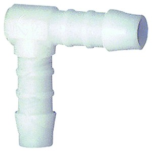 ID: 111008 - Winkel-Schlauchverbindungsstutzen, für Schlauch LW 4 mm, POM