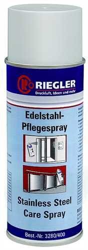 ID: 114567 - RIEGLER Edelstahl-Pflegespray, Temperatur -17°C bis 120°C, 400 ml