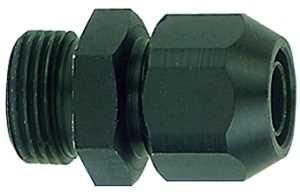 ID: 113769 - Einschraubverschraubung, Alu, für PVC-Gewebeschlauch 15x9, G 3/8