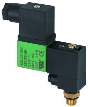 ID: 102967 - 3/2-Wege-Magnetventil, Banjo, NC, 230/50 V, G 1/8 AG, PN 10 bar