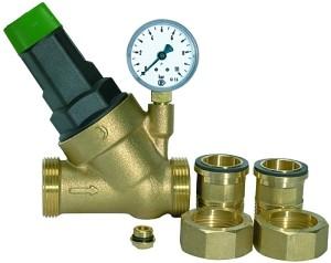 ID: 101402 - Druckregler »Saxonia« für Trinkwasser, DVGW-geprüft, R 1