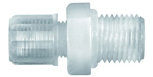 ID: 110906 - Gerade Einschraubverschraubung G 1/4 a., f. Schlauch 9/12 mm, PFA