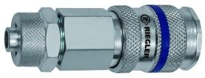 ID: 141523 - Schnellverschlusskupplung NW 7,8, Stahl, Schlauchanschluss 8x6