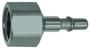 ID: 141941 - Nippel für Kupplungen NW 6, ISO 6150 C, Edelstahl, G 1/4 IG