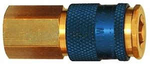 ID: 107671 - Unverwechselbare Schnellverschlusskupplung NW 7,8, G 1/4 IG, blau