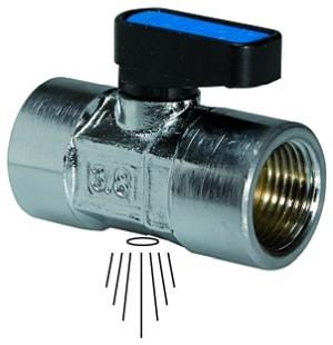 ID: 103358 - Mini-Sicherheitskugelhahn n. abschließbar, Entlüftung, G 1/4 IG
