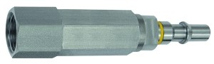 ID: 141913 - Unverwechselbarer Nippel NW 6, ISO 6150 C, RSV, G 3/8 IG, grau