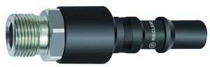 ID: 141773 - Nippel mit RSV für Kupplungen NW 8, ISO 6150 C, Stahl, G 3/8 AG