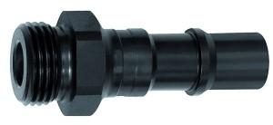 ID: 141724 - Nippel für Kupplungen NW 11, ISO 6150 C, Stahl, NPT 3/8 AG
