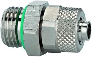 Gerade Einschraubverschraubung, FKM O-Ring, G1/4 a