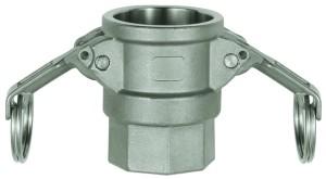ID: 108115 - Kamlok-Schnellkupplungsdose mit IG, Typ D, ES 1.4401, G 3/4
