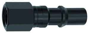 ID: 141702 - Nippel für Kupplungen NW 8, ISO 6150 C, Stahl, NPT 1/4 IG
