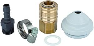 ID: 114510 - Druckluftanschlussset, inkl. Kupplung NW 7,2 und Tülle LW 9