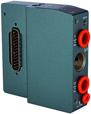 ID: 106670 - Eingangsplatte für Ventilinsel HDM, int. Steuerluft, Multipol