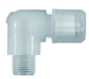 ID: 110921 - Winkel-Einschraubverschraubung G 3/8 a., für Schlauch 4/6 mm, PFA