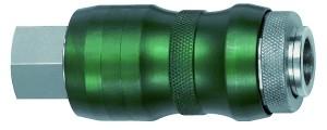 ID: 134078 - Sicherheitskupplung NW7,8, Bi-Tec, MS vern., G 3/8 IG, 2050 l/min