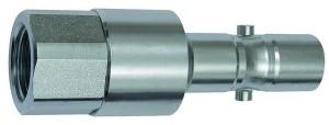 ID: 141807 - Nippel mit RSV für Kupplungen NW 11, 2-stufig, Stahl, G 1/2 IG