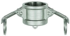 ID: 108124 - Kamlok-Verschlusskappe, Typ DC, ES 1.4401, für Stecker-Ø 37 mm