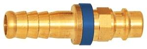 ID: 107681 - Unverwechselbare Einstecktülle NW 7,8, MS blank, Tülle LW 6, blau