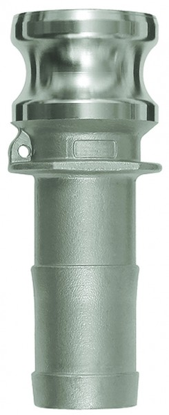 ID: 108147 - Kamlok-Schnellkupplungsstecker mit Tülle, Typ E, ES 1.4401, LW 19