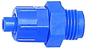 ID: 110724 - Gerade Einschraubverschraubung G 1/4 a., für Schlauch 8/6 mm, POM
