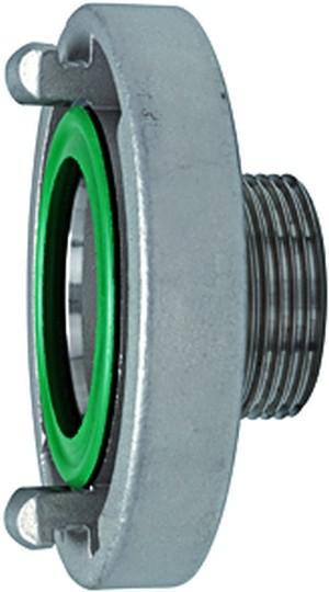 ID: 108312 - Storz-Festkupplung, Edelstahl V4A, Storz-Größe 52-C, G 1 1/4 AG