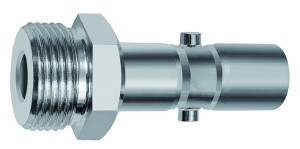 ID: 141802 - Nippel f. Kuppl. NW 11, schwere Reihe, 2-stufig, Stahl, G 1/2 AG