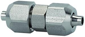 ID: 110694 - Gerader Verbinder, für Schlauch 6/4 mm, SW1 12, SW2 10, ES 1.4404