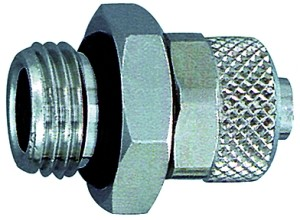 Gerade Einschraubverschraubung, O-Ring, M5 a., für