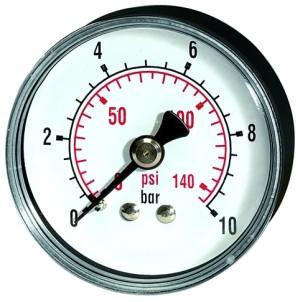 ID: 115024 - Standardmano »pressure line« G 1/8 hinten 0-16,0 bar/235 psi, Ø40