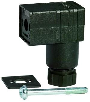 Gerätestecker für Mini-Magnetventile 15 mm, PG 9 F